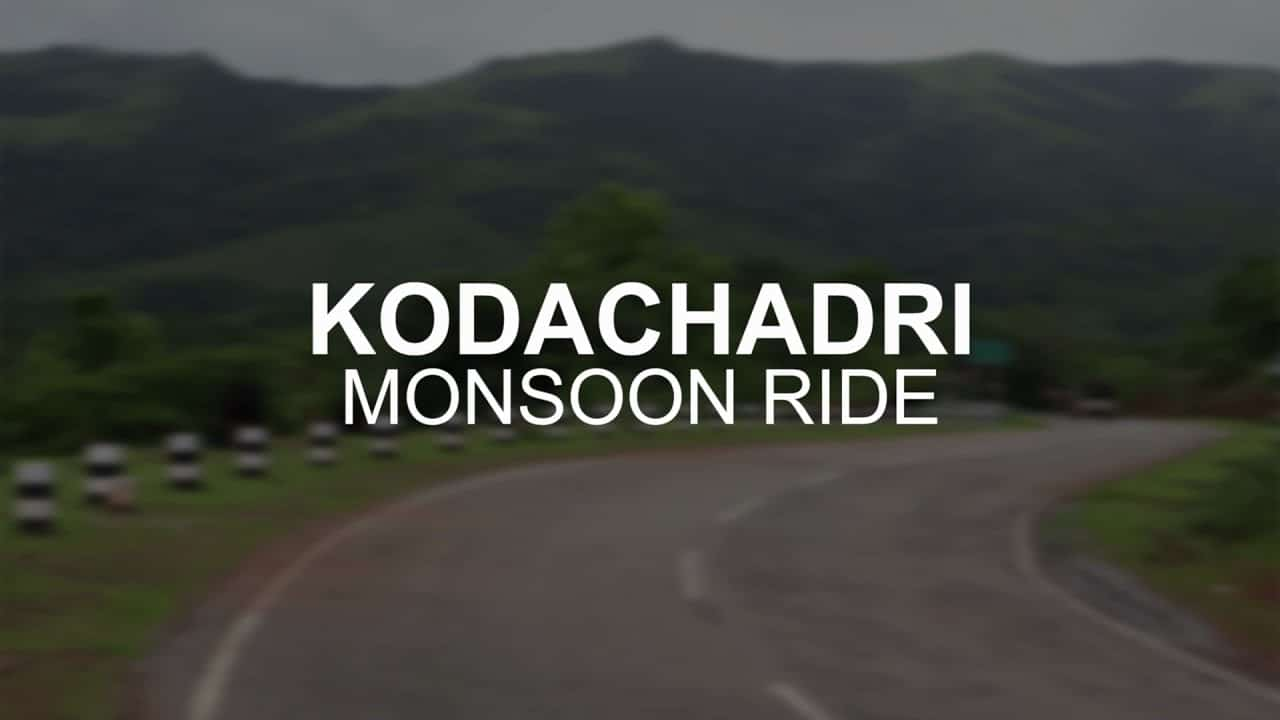 Monsoon ride | Kodachadri peak part 1| Discover125 | Adventure