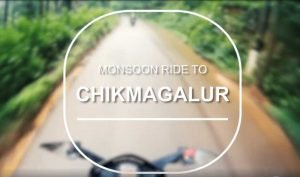 Monsoon ride to chikmagalur